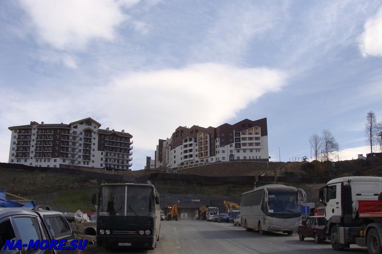Mountain Cluster. Settlement Krasnaya Polyana.