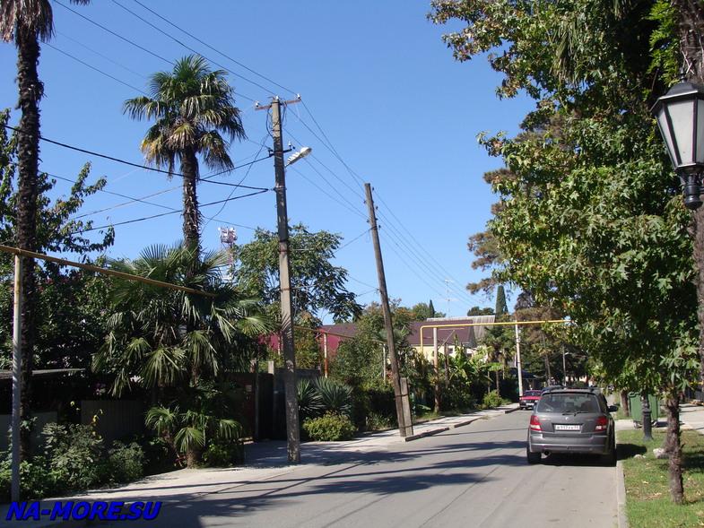 Интернациональная улица в Адлере